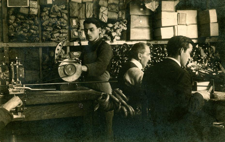 Gestellproduktion um 1930
