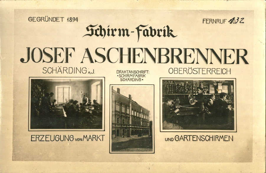 Geschäftspostkarte ca. 1930